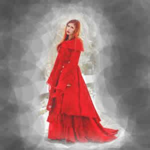 Lenda urbana da dama de vermelho