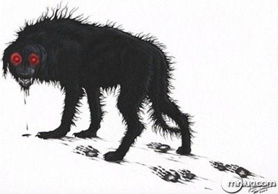 """O mistério dos """"cães negros"""""""